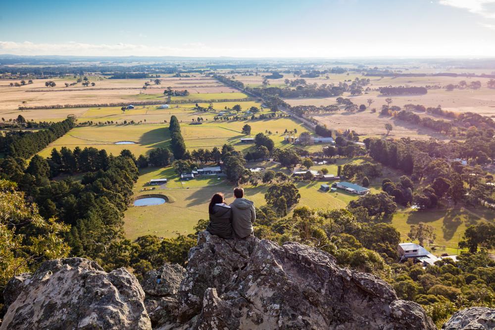 Hanging Rock, Victoria, Australia.