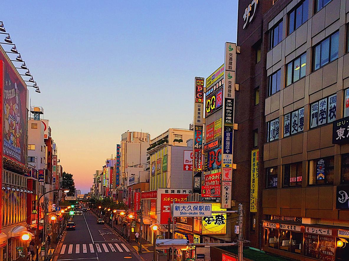 Shin-Okubo, Tokyo, Japan.