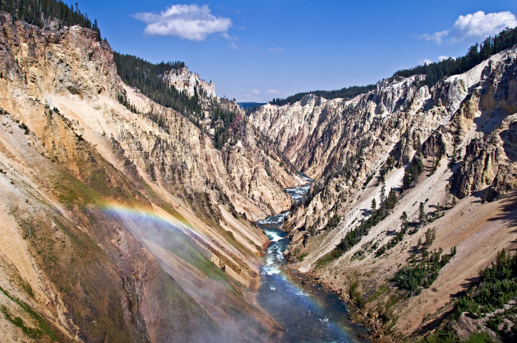 Grand Canyon of the Yellowstone, Canyon Of The Yellowstone