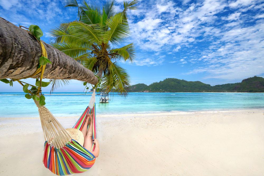Anse Major beach, Seychelles.