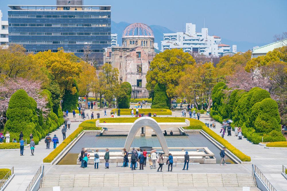 Peace Memorial Park, Hiroshima, Japan.