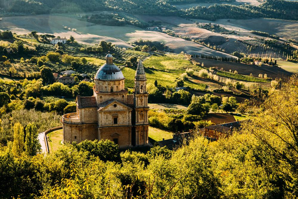 Chiesa di San Biagio church, Montepulciano, Italy.