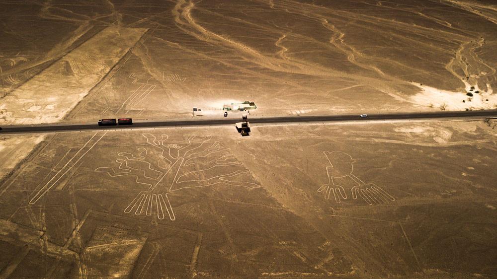 The Nazca Lines, Nazca Desert, Peru.