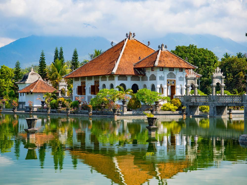 Taman Ujung Water Palace, Bali, Indonesia.