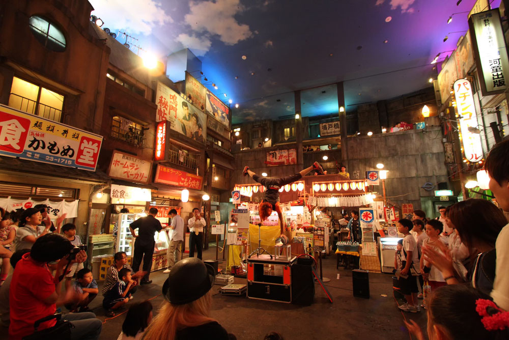Shin-Yokohama Ramen Museum, Yokohama-shi,Japan.Various images/Shutterstock.com