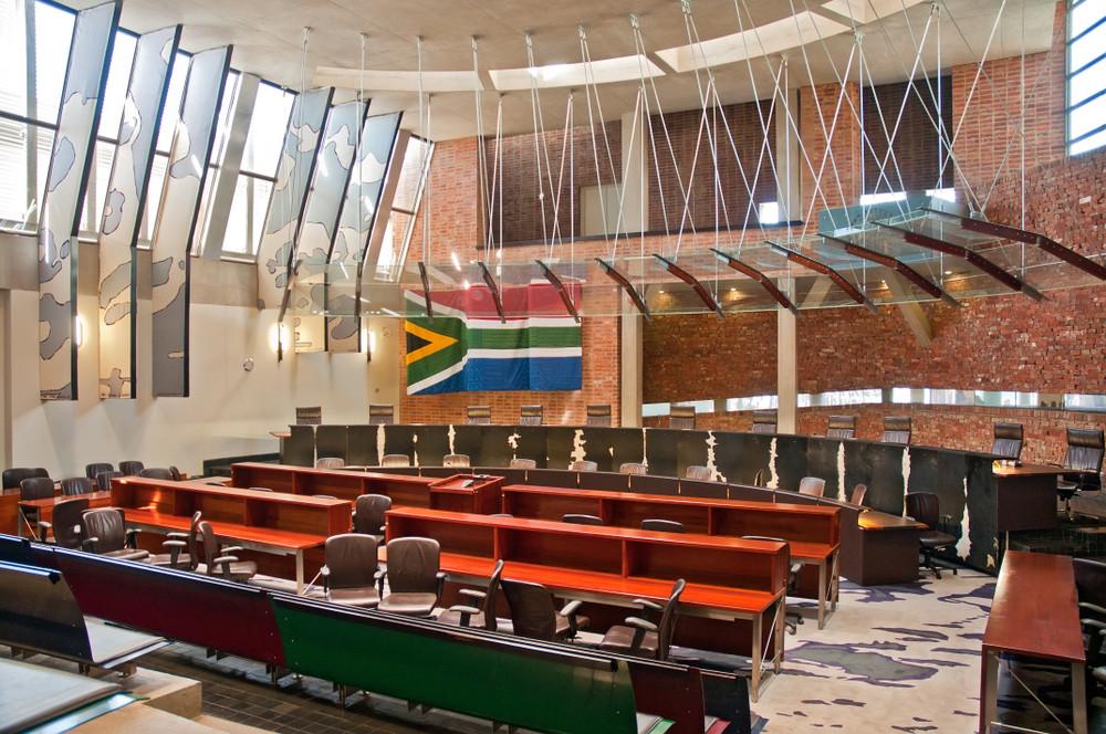 Constitutional Court, Johannesburg, South Africa. Cezary Wojtkowski / Shutterstock.com