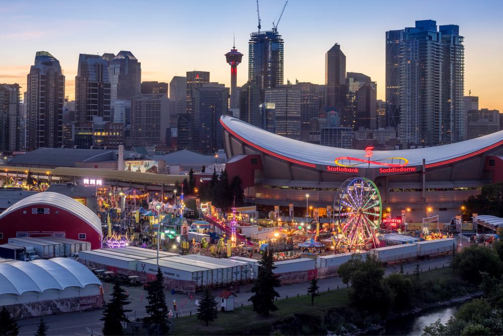 Calgary Stampede, Calgary, Alberta, Canada. Jeff Whyte/Shutterstock.com