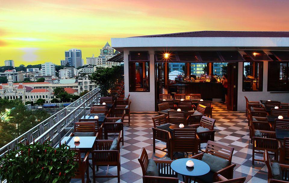 Saigon Saigon Rooftop Bar, Ho Chi Minh, Vietnam. Credit: Saigon Saigon Rooftop Bar