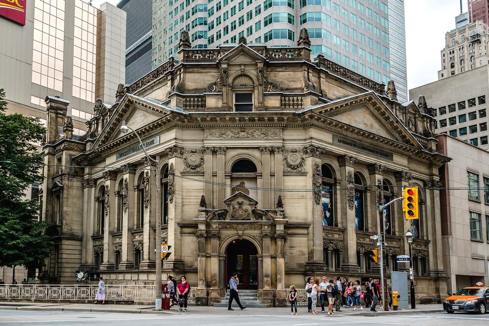 Hockey Hall of Fame, Old Toronto, Ontario, Canada. Kiev.Victor/Shutterstock.com