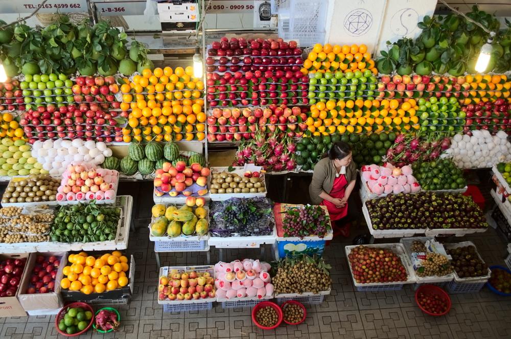Fruit in Quang Ngai, Vietnam.