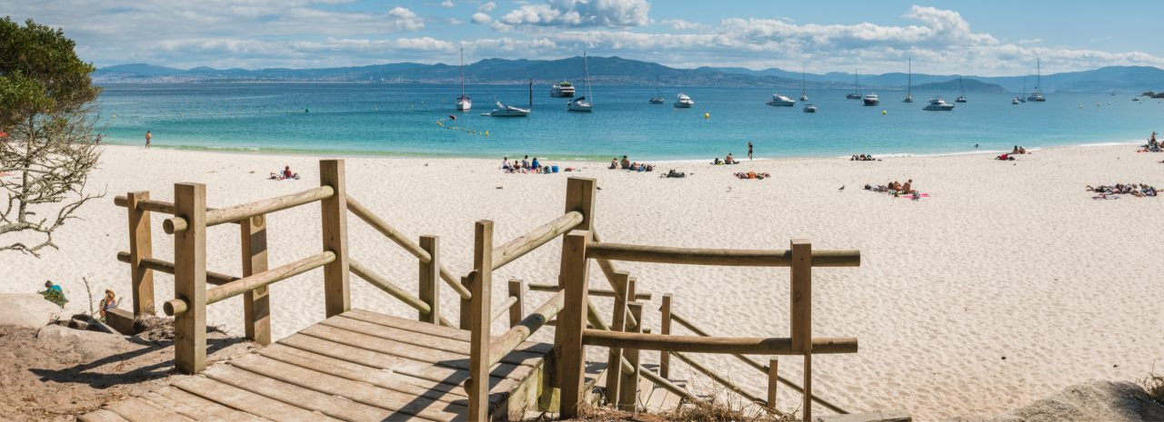 Playa de Rodas, Islas Cíes, Spain. homydesign / Shutterstock.com