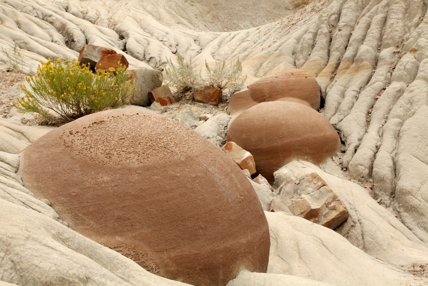 Cannonball Concretions Pullout, Grassy Butte