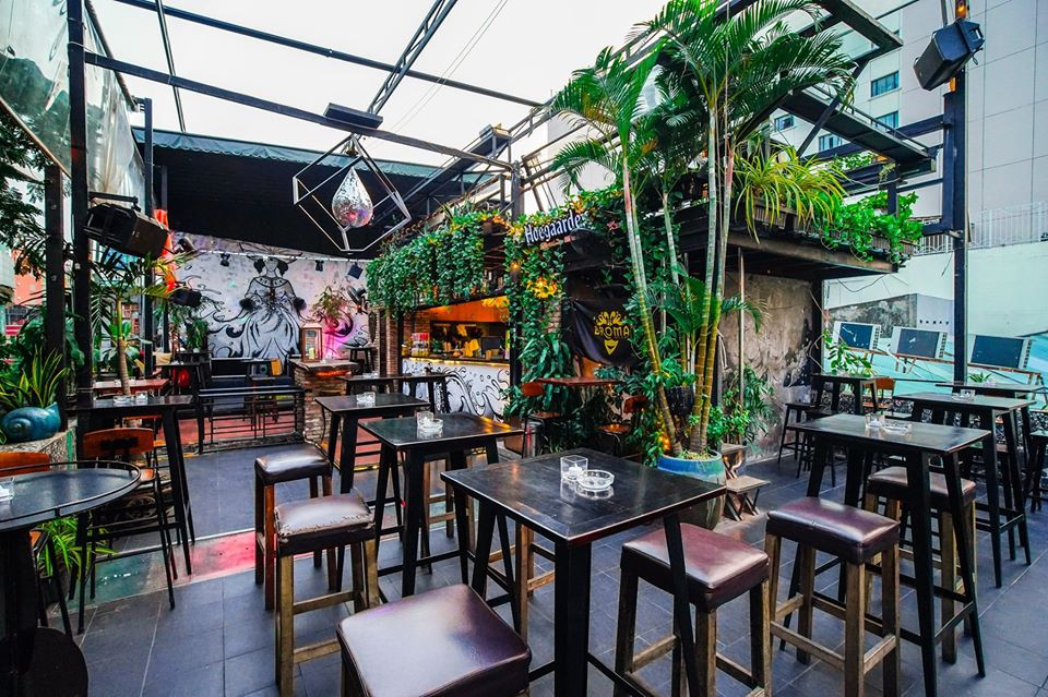Broma: Not a Bar, Ho Chi Minh, Vietnam. Credit: Broma