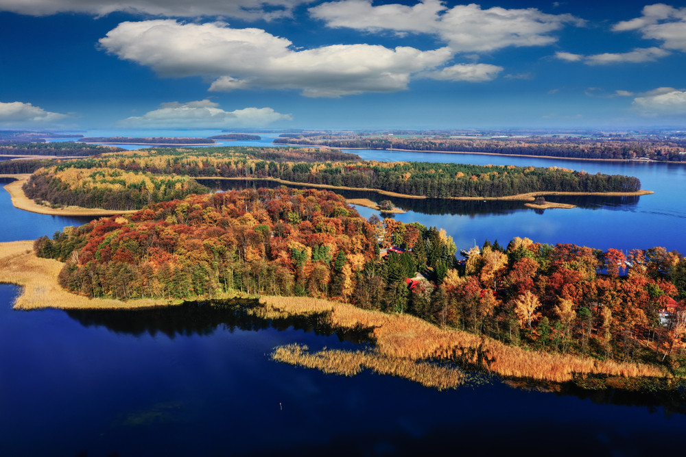Masurian Lake District, Poland.