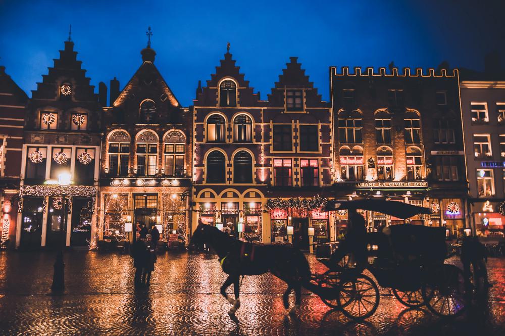 Bruges, Belgium. MarkoV87/Shutterstock.com