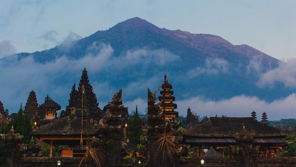 Mount Agung, Bali, Indonesia.