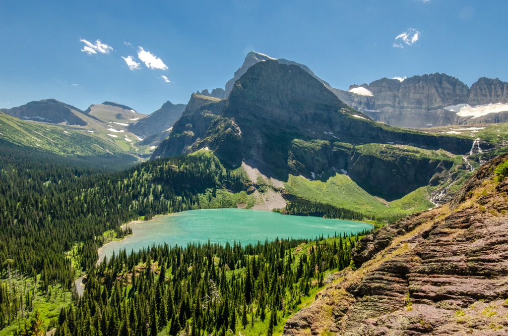 Grinnell Glacier, Grinnell