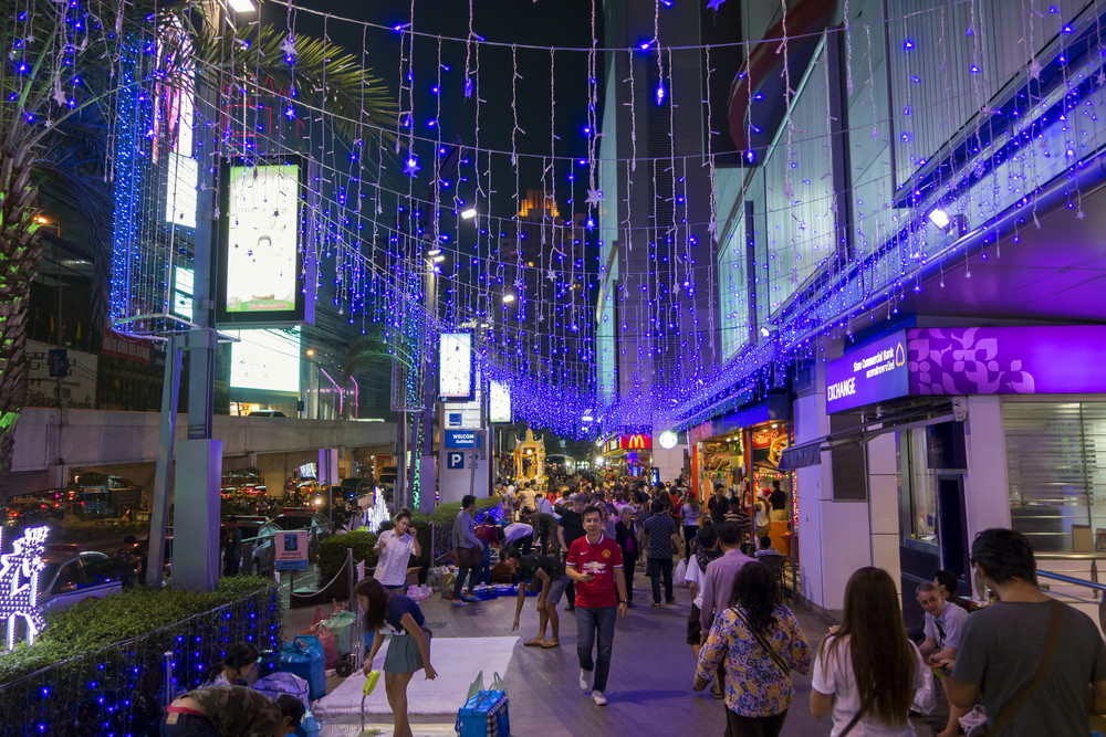 Platinum Fashion Mall, Bangkok, Thailand.