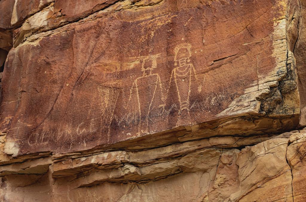 Fremont Petroglyphs, Jensen
