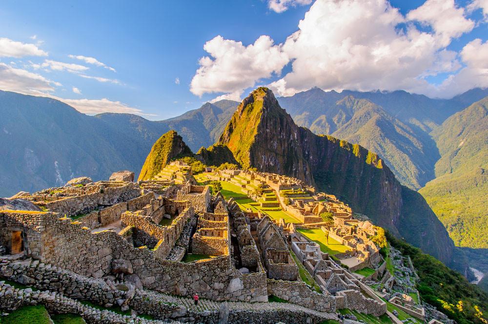 Huayna Picchu and Machu Picchu, Peru.