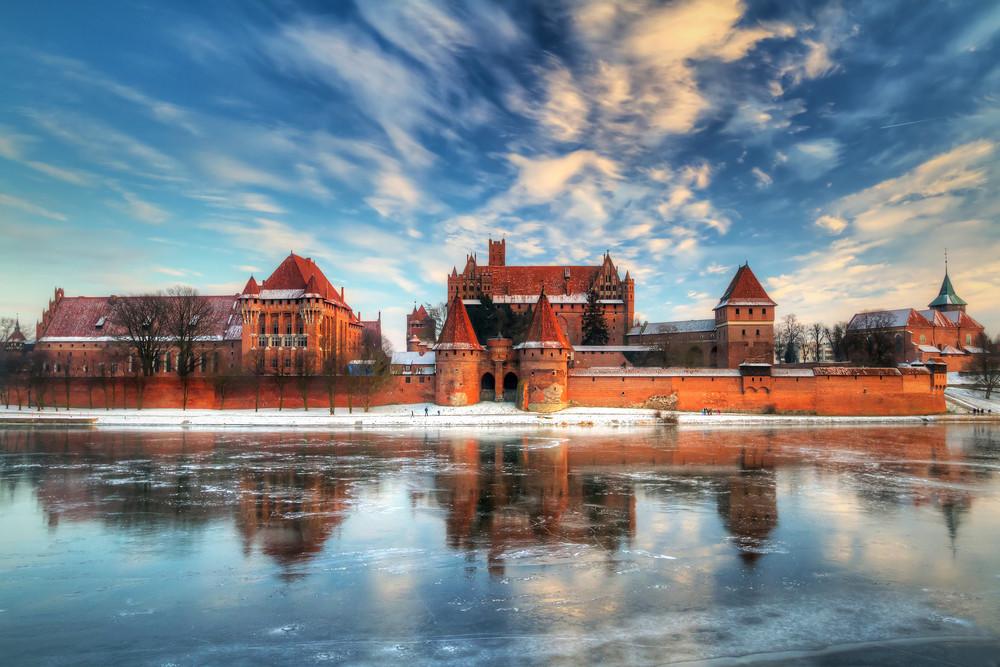 Malbork Castle, Poland.
