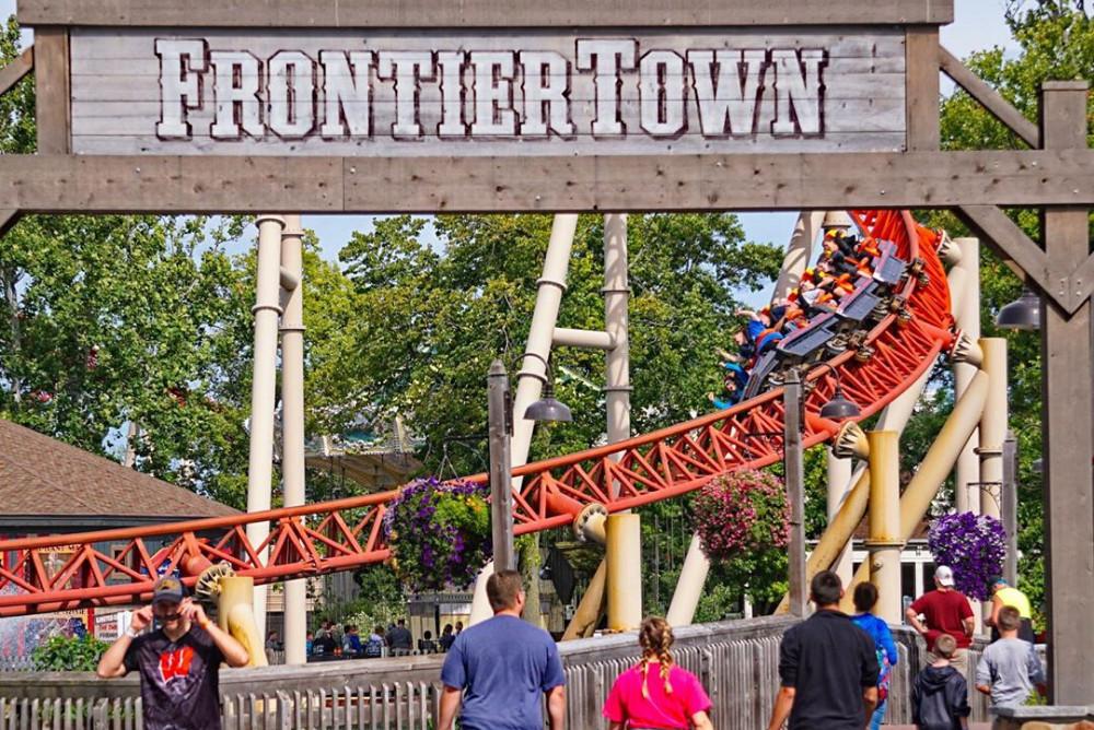 Cedar Point, Sandusky, Ohio. Credit:@coasteraddicts
