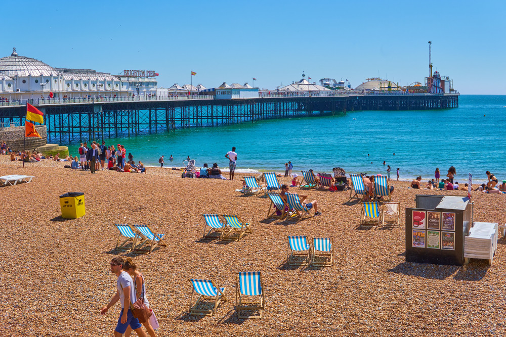 Brighton Beach, Brighton, UK. Michaelasbest/Shutterstock.com