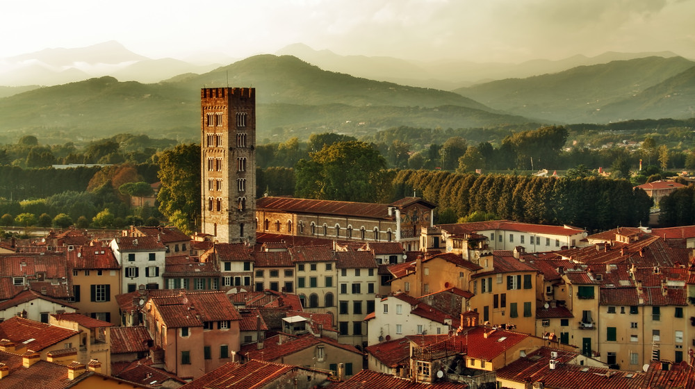 Lucca, Italy.