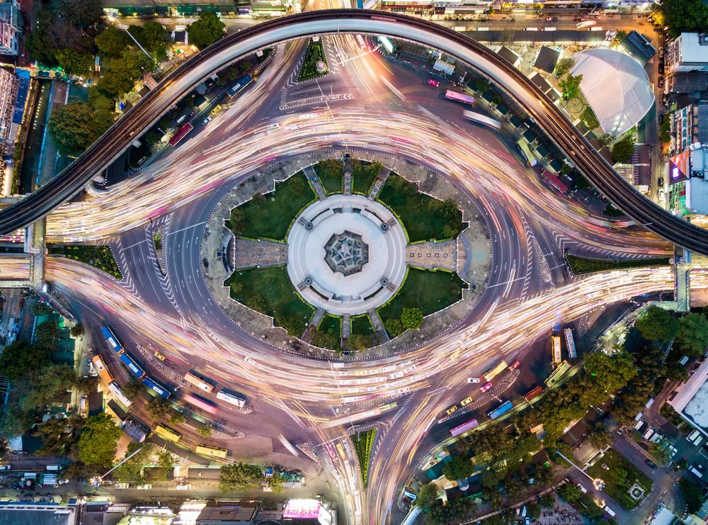 Victory Monument, Bangkok, Thailand.