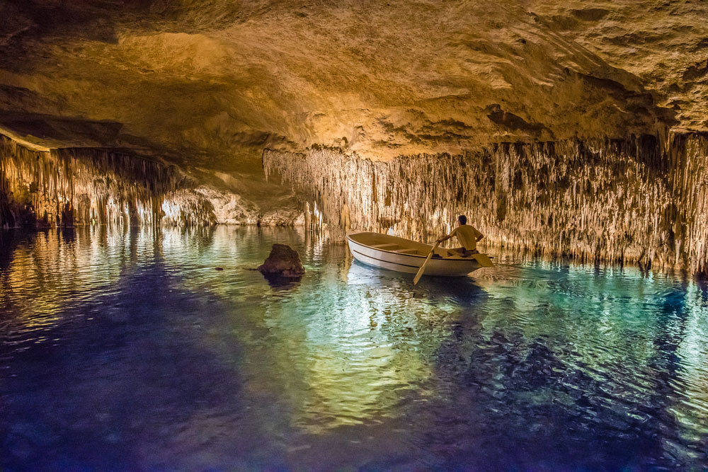 Cuevas del Drach, Mallorca, Spain.