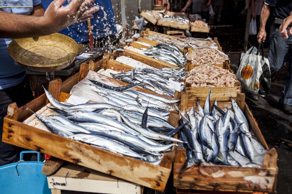 Catania Fish Market, Catania