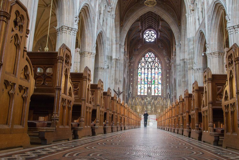 Inside Saint Patrick's Catholic Cathedral, Armagh, Northern IrelandArtur Nagalski / Shutterstock.com