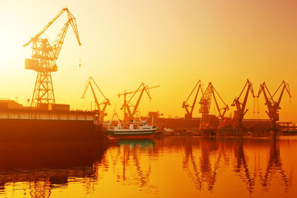 Gdansk Shipyard, Poland.