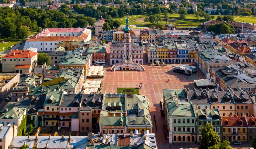 Zamosc, Poland. Christian Faludi / Shutterstock.com