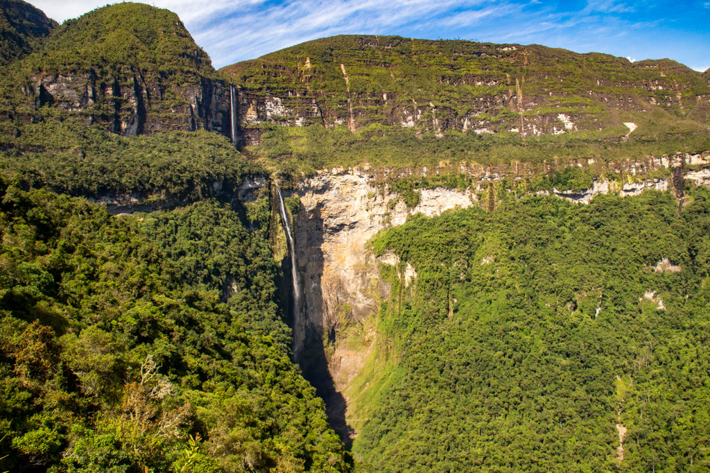 Gocta Waterfall,