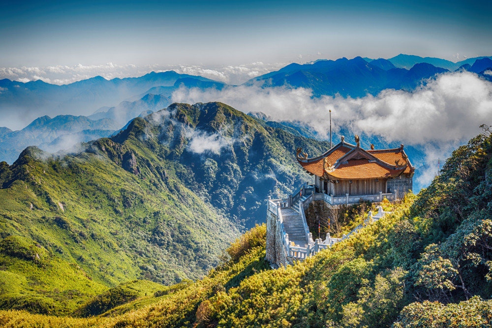 Fansipan, the Roof of Indochina, Sapa, Vietnam.