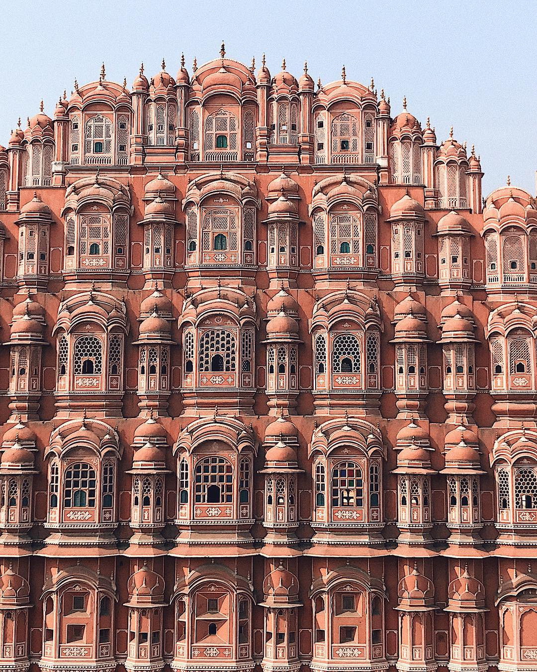 Hawa Mahal palace (Palace of the Winds), Jaipur, India. @the_zlist