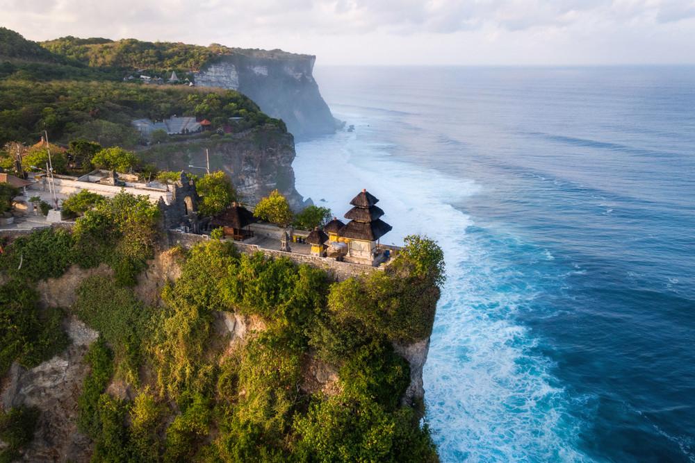 Pura Luhur, Uluwatu, Bali, Indonesia.