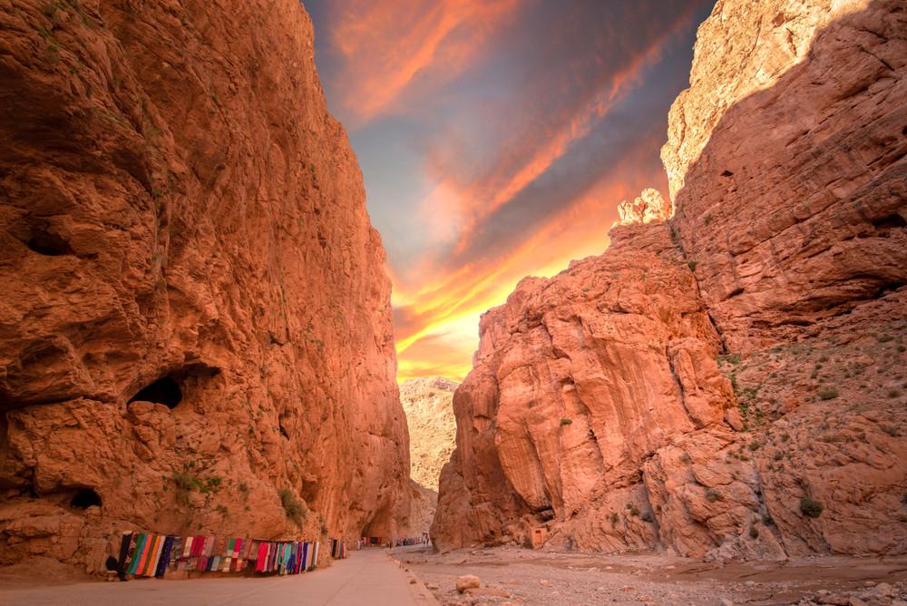 Todgha Gorge, Tinghir, Morocco.