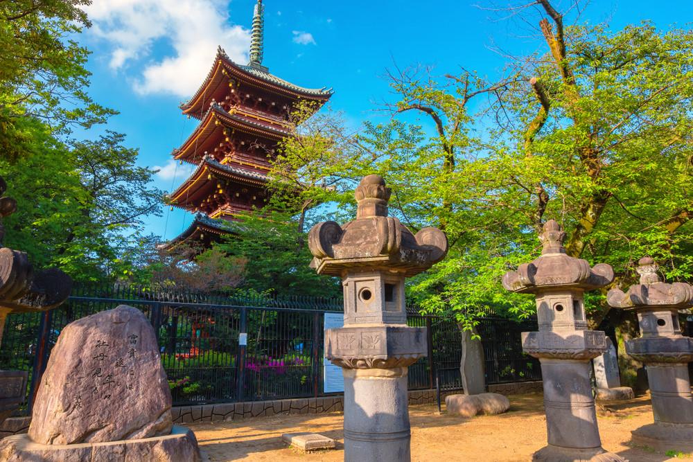 Kaneiji Temple, Tokyo, Japan.
