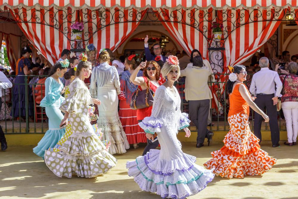 Spring at the Feria de Abril. Shootdiem/Shutterstock.com