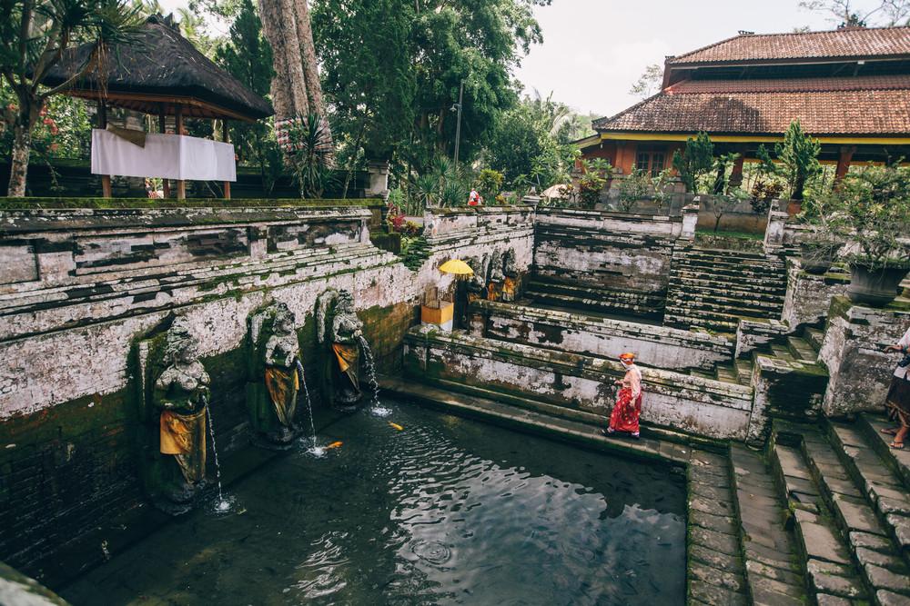 Goa Gajah, Bali, Indonesia.
