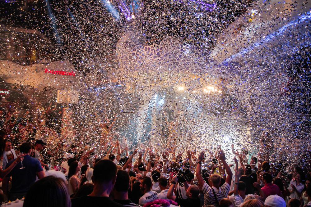 Nightclub in Ibiza, Spain.