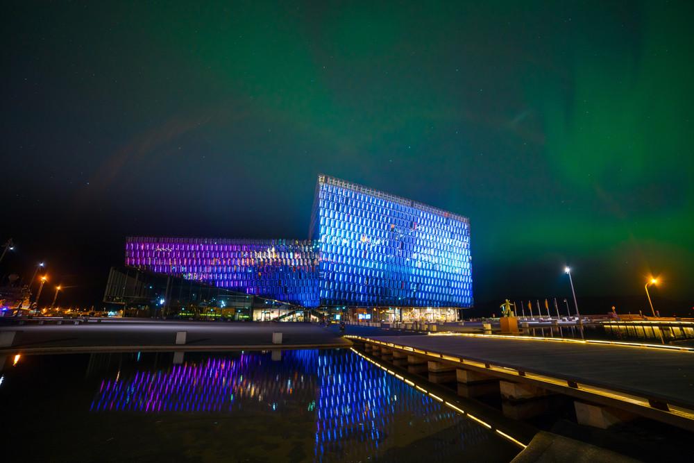 Harpa Concert Hall, Reykjavik. Iceland