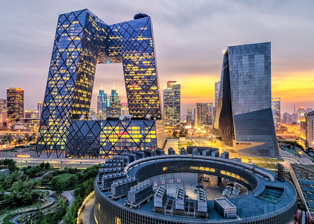 City landscape, Beijing, China.