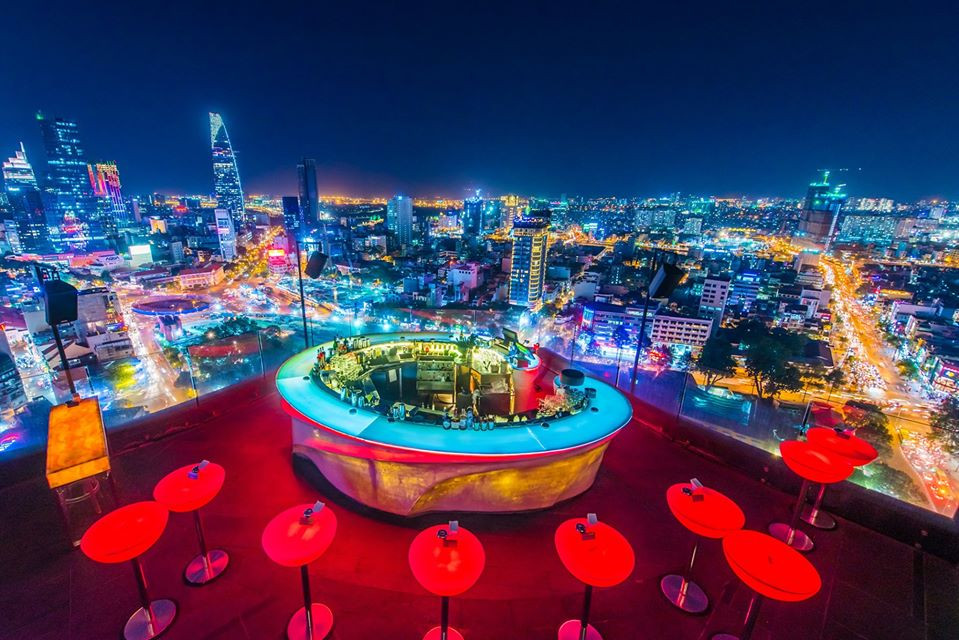 10 Rooftop Bars for the Best Views of Ho Chi Minh City, Vietnam (with Map  and Images) - Seeker