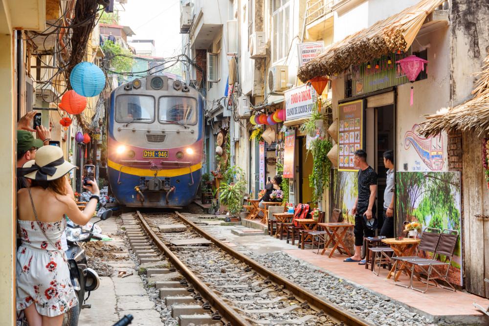 Hanoi Old Quarter, Hanoi, Vietnam. Efired/Shutterstock.com