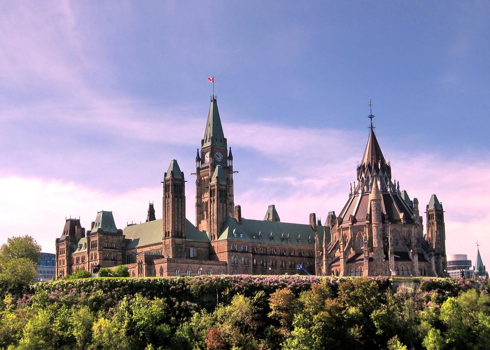 Parliament Hill, Ottawa, Ontario, Canada.