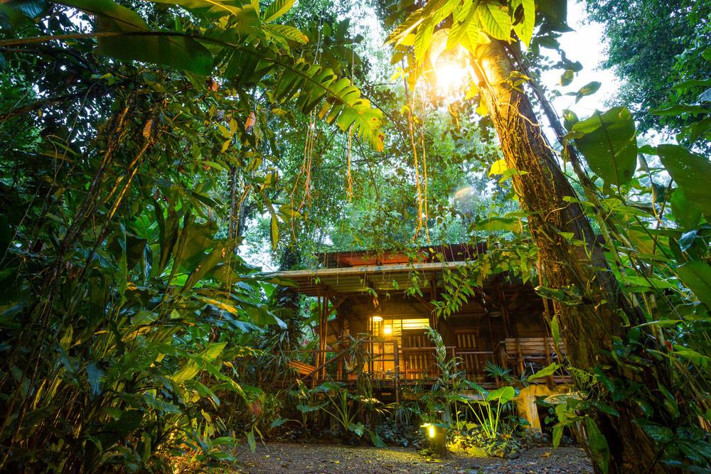Tropical Destination Eco lodge, Puerto Viejo, Costa Rica.