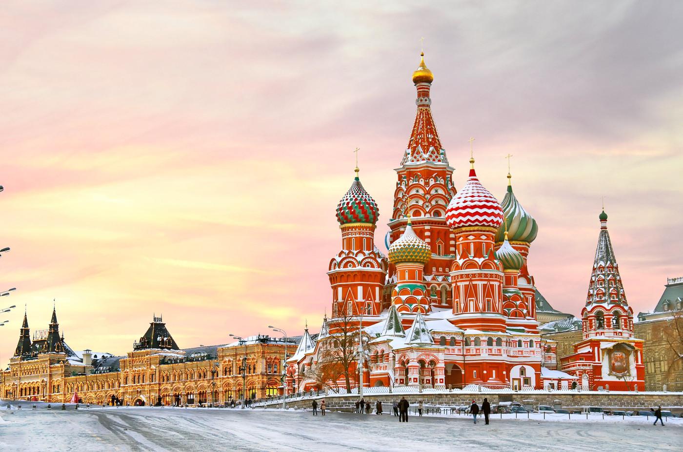 Red Square, Moskva
